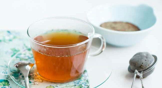 Chá para alergia