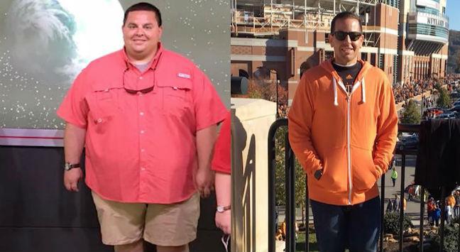 Tem Na Web - Depois de Ter 176 Kg, Ele Mudou a Dieta, Passou a se Exercitar e Perdeu 81 Kg em 10 Meses