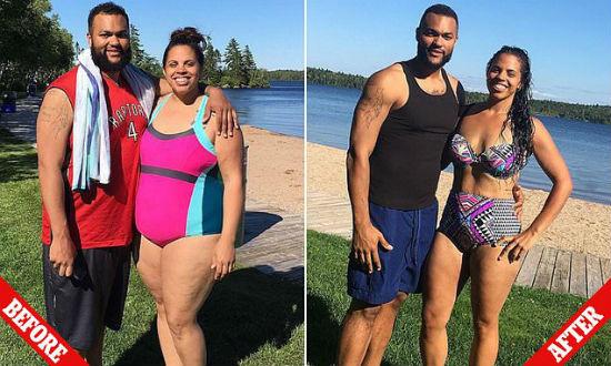 Cómo esta pareja perdió casi 100 kg juntos en 10 meses 8