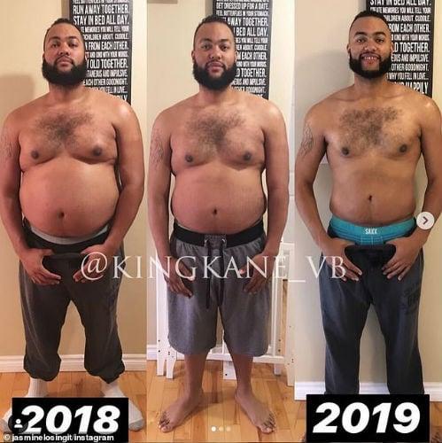 Cómo esta pareja perdió casi 100 kg juntos en 10 meses 4