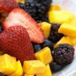 3 Receitas de Salada de Frutas Low Carb