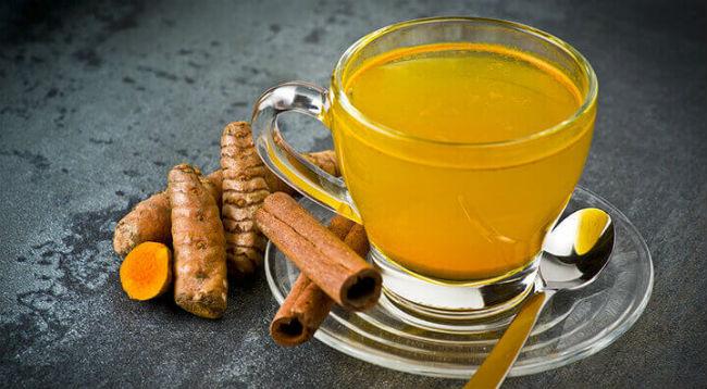 Chá anti-inflamatório