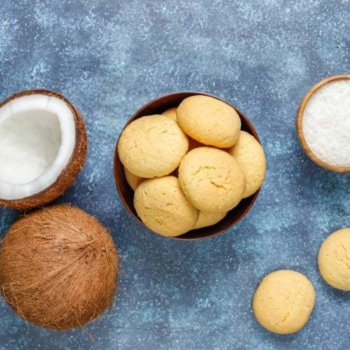 Cookie de coco low carb