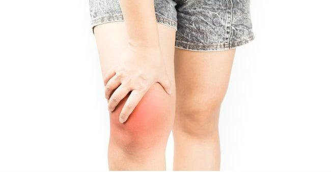 Derrame articular no joelho