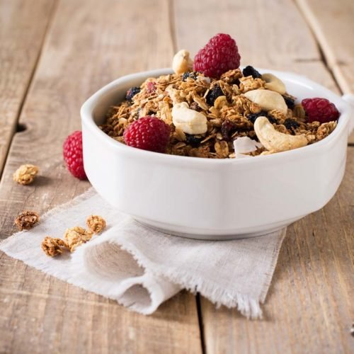 Granola de sementes, fit e low carb