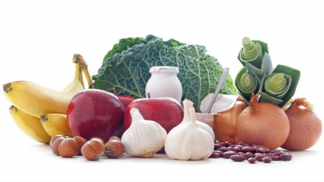 Alimentos prebióticos