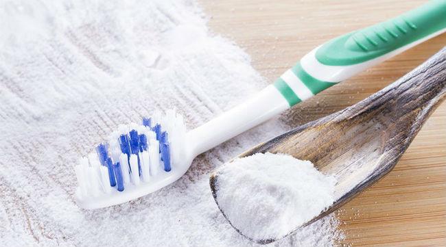 Bicarbonato clareia os dentes