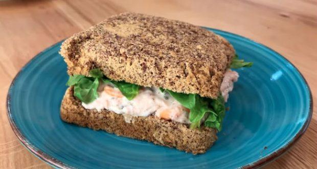 Receita de sanduíche low carb