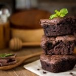 Receita de brownie de liquidificador low carb