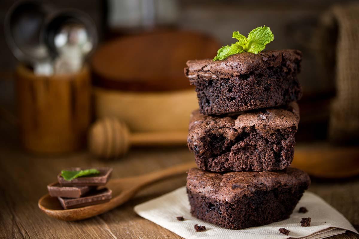 Brownie de liquidificador low carb