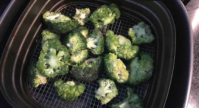 Brócolis na AirFryer