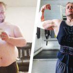 Esse Cara Perdeu 81,6 Kg Aprendendo a Comer e se Exercitar de Forma Mais Inteligente