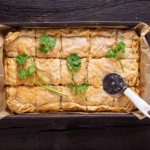 Torta de frango light, saudável, rápida e fácil