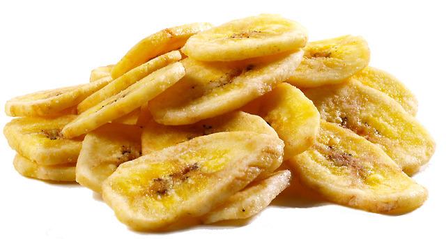 Banana desidratada