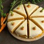 Receita de bolo de cenoura low carb, rápido e saudável