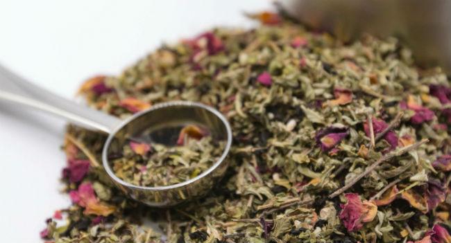 Chá afrodisíaco
