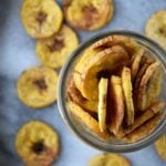 5 Receitas de Chips de Banana Verde
