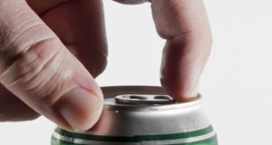 Lata de cerveja