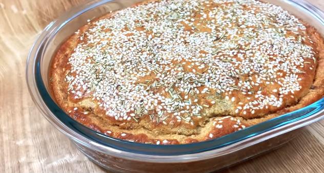 Torta de frango fit