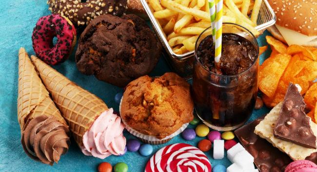 Alimentos ruins para o coração