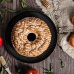 Receita de bolo de maçã com aveia, light, fácil e saudável