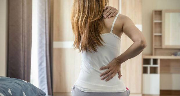 Formigamento nas costas