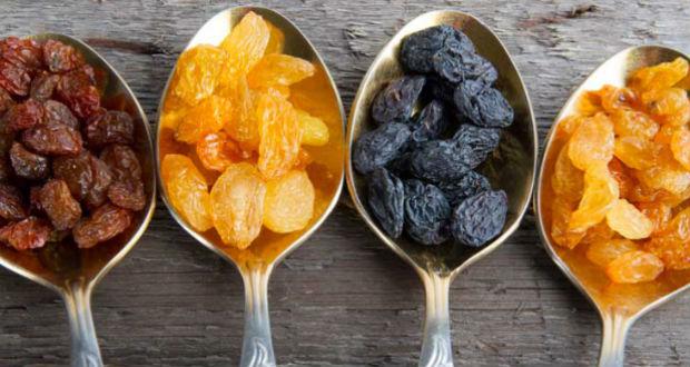 Frutas secas laxantes