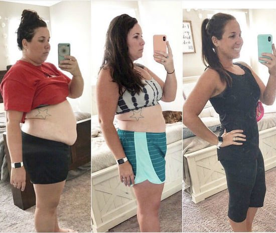 jenny4 Graças ao Jejum Intermitente e à Dieta Cetogênica, Mulher Perde 45 Kg em 1 Ano