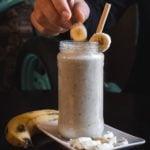 Receita de smoothie de banana com ativadores da testosterona