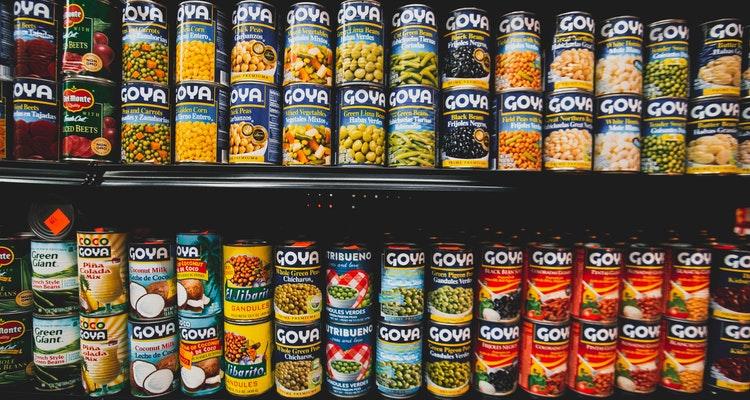Alimentos enlatados