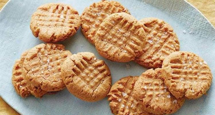 Cookie com farinha de amendoim low carb
