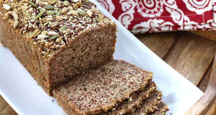 Pão com farinha de amêndoas low carb