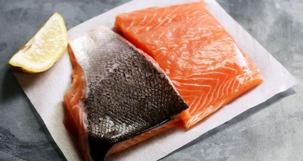 Pele de salmão
