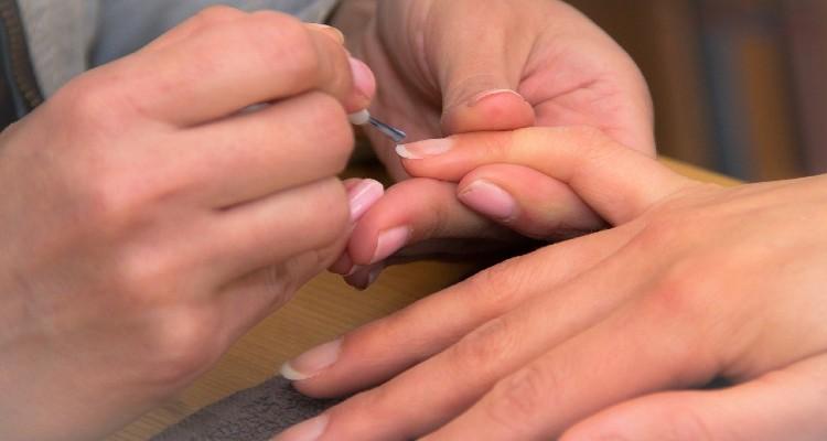 Cuidando das unhas