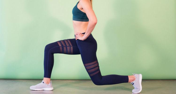 Exercício funcional para perna