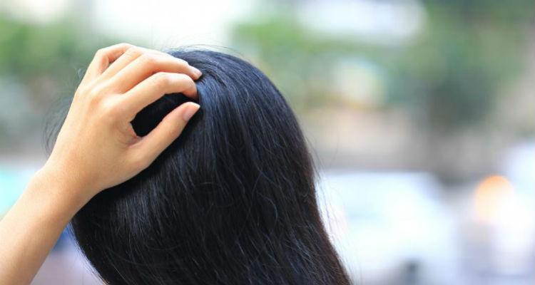 Formigamento no couro cabeludo