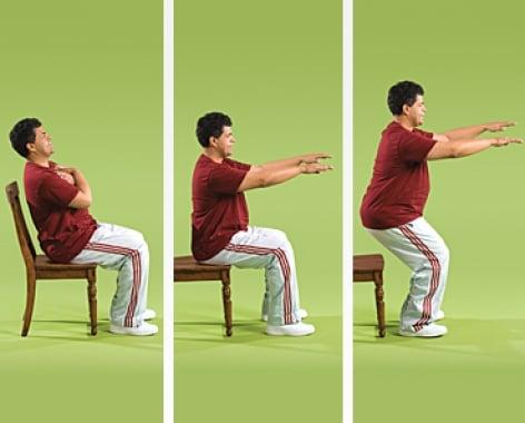 agachamento 7 Melhores Exercícios Funcionais para Idosos