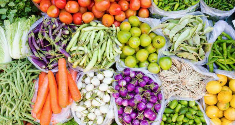 Vegetais ricos em fibras