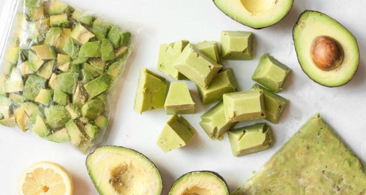 Como congelar abacate