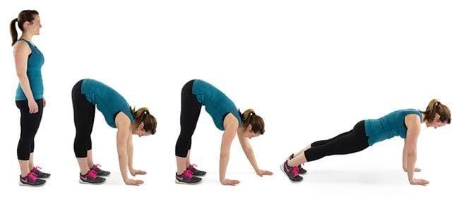 10 ejercicios de Crossfit para hacer en casa 8