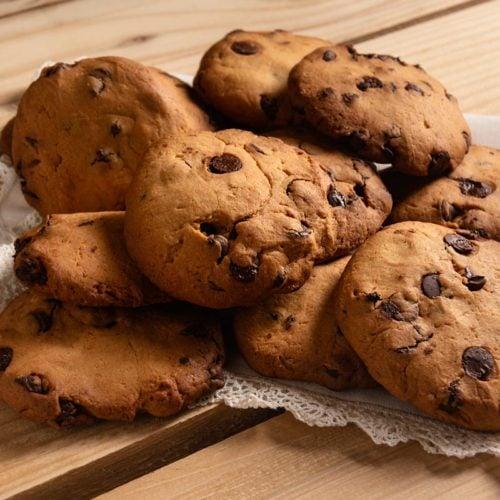Cookie de banana sem açúcar e farinha
