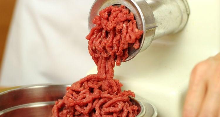 Carne magra moída