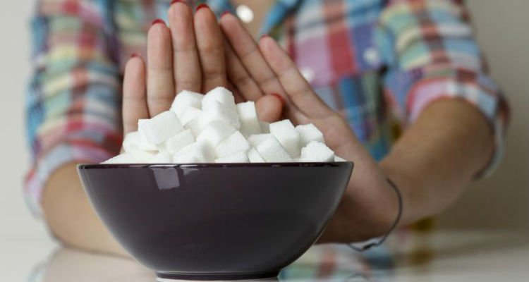 Cortar açúcar da dieta