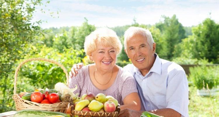 Dieta mediterrânea para idosos