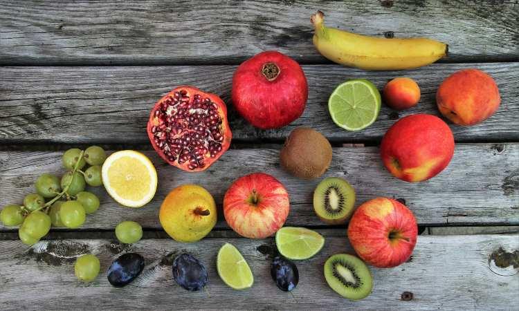 Frutas para memória