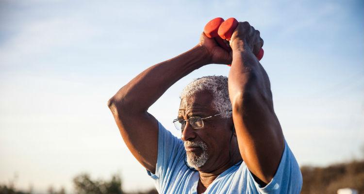 Músculos de idoso