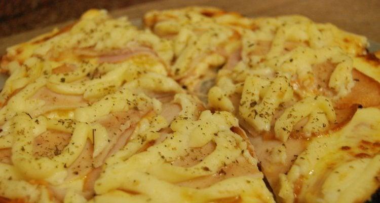 Pizza com catupiry