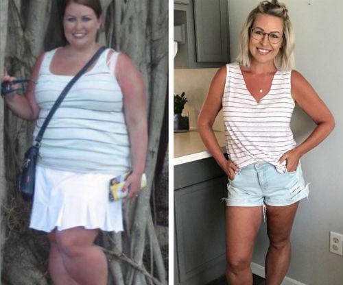 Mira la historia de la mujer que perdió 50 kg hasta correr una media maratón 6
