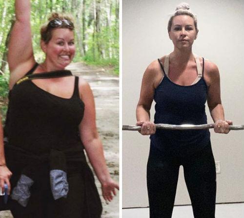 Mira la historia de la mujer que perdió 50 kg hasta correr una media maratón 4