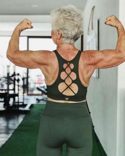 Grandma Fitness, que perdió más de 28 kg a los 73 años, demuestra que nunca es tarde para comenzar 4